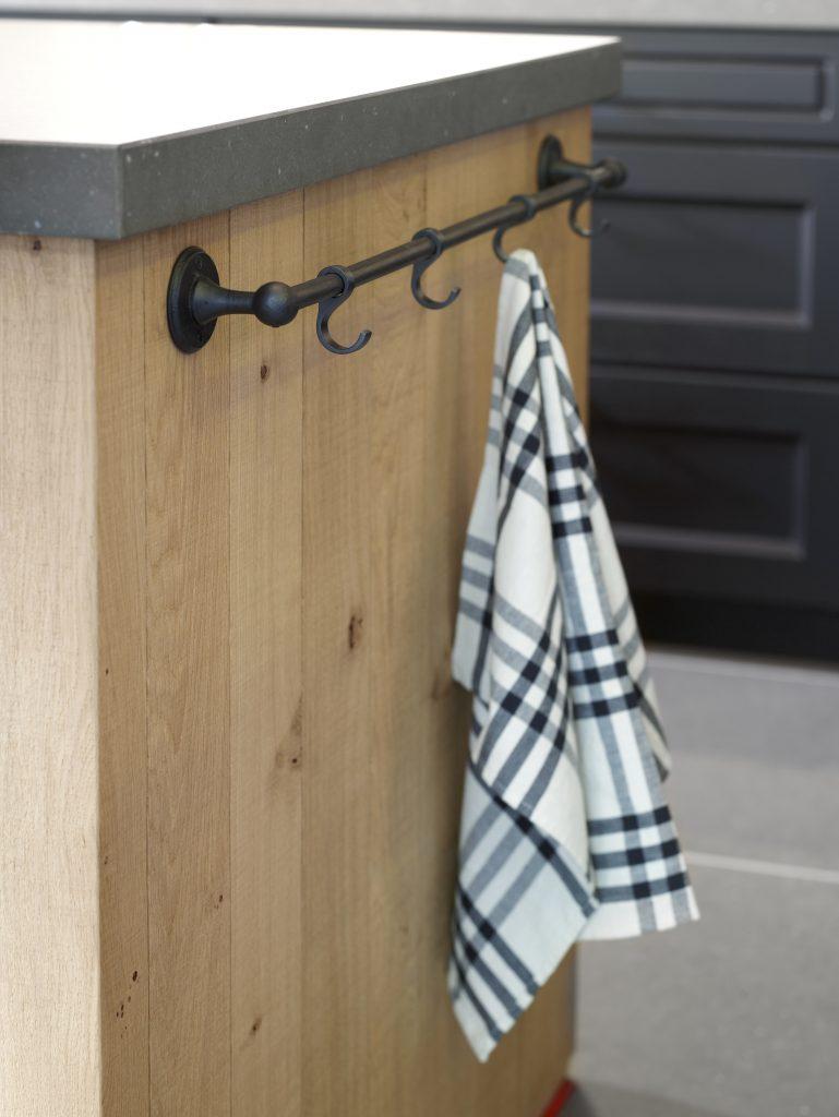 Goossens - Pure Plus Towel Bar VO(aged iron) 1