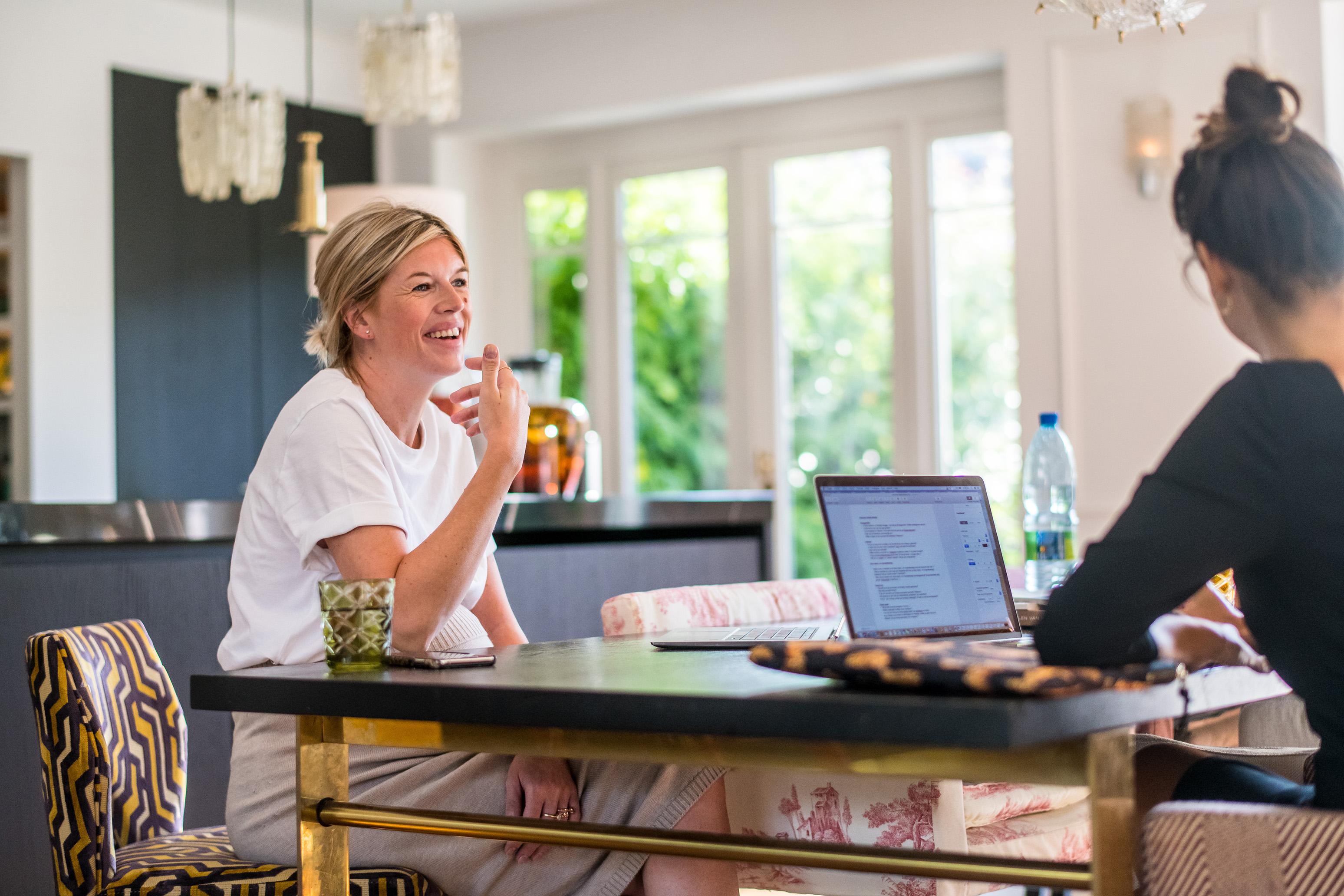 Interview Valerie Brems met Hazel De Herdt