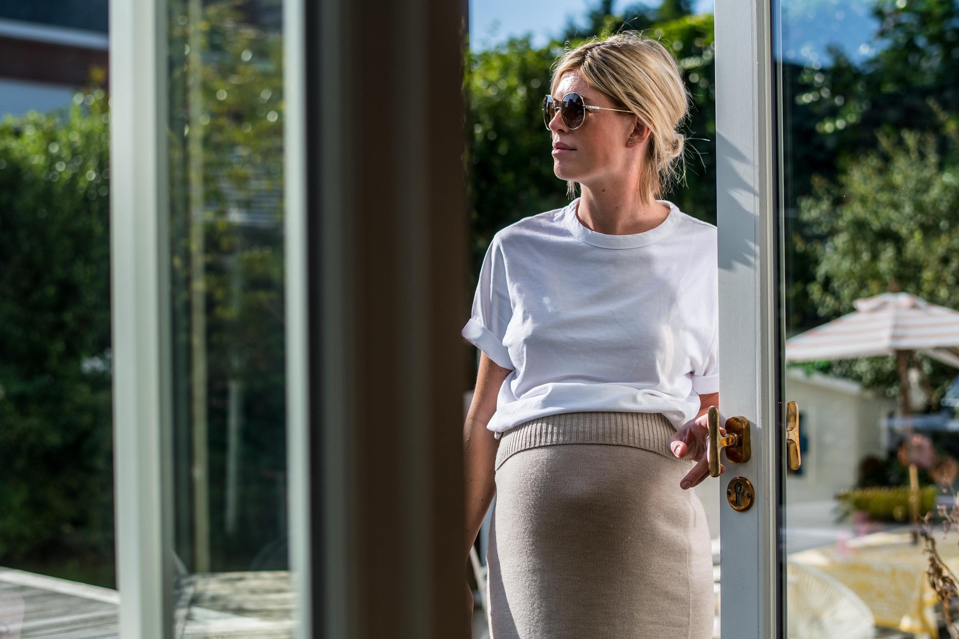 Valerie Brems met PHT deurklink in Ruw Brons Gepolijst